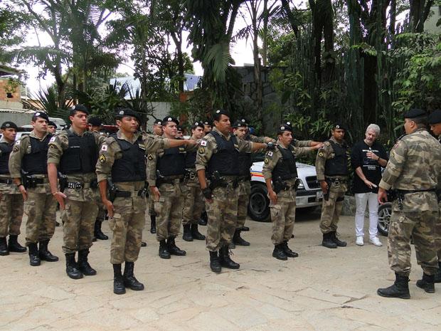 Honras Militares para cães da polícia de BH