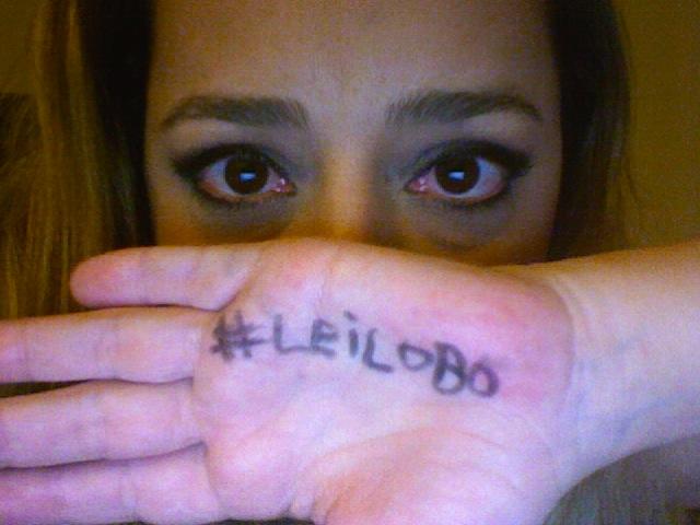 #LeiLobo Nós apoiamos!