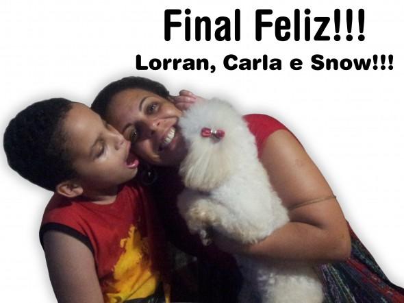 final feliz 590x442 Adoção: Uma cachorrinha para Lorran