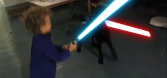 A mais fofa batalha Jedi